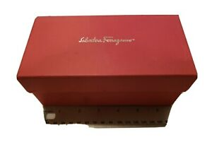 SALVATORE FERRAGAMO BOX  With Dust Bag