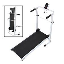 Folding Mini Treadmill - White