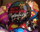 HAPPY BIRTHDAY Get Better With Age Approaching Magnificent party BALLOON 10 Lot