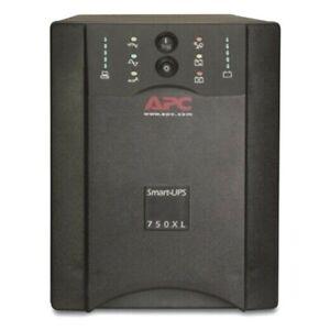 APC SUA750XL Smart-UPS Extended Power Backup w/ New Batteries 750VA 600W #10922