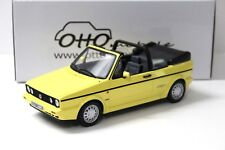 1:18 OTTO VW Golf 1 Cabrio Young Line yellow NEW bei PREMIUM-MODELCARS