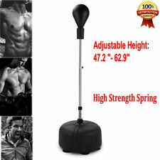 Adult Boxing Punch Ball Stand Set Exercise Equipment Agility Training Speed Hot