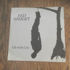 FAD GADGET - LIFE ON THE LINE - ELECTRO,NEW WAVE,SYNTH POP - FRANK TOVEY!!!!