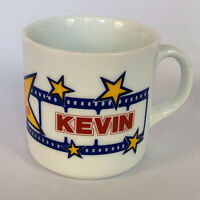 Vintage Universal City Studios Coffee Mug Personalized Kevin A Star is Born GIFT