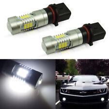 2Pcs 21-Smd 6000K P13W White Led Daytime Running Light Bulbs For Chevy Camaro