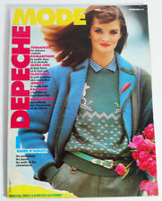 August 1980 Depeche Mode Fashion Magazine Pret-A-Porter Automne