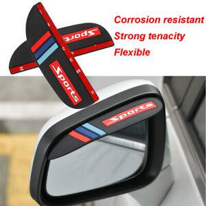 Car Rearview Mirror Rain Eyebrow Shade Baffle Visor Waterproof For Mini Cooper
