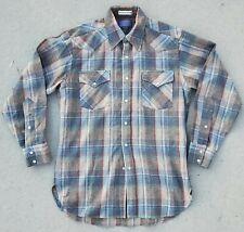 Vintage Pendelton High Grade Western Wear Wool Button Down Shirt Medium