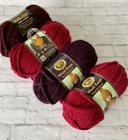 4 Skeins Wool Ease Yarn Thick and Quick Super Bulky 80% Acrylic 20% Wool
