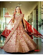 WEDDING BRIDAL WEAR LEHENGA CHOLI SET ENGAGEMENT LENGHA DESIGNER INDIAN ETHNIC