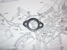 OSSA Carb Intake Rubber Spacer (Large Diamter)  Pioneer   118087