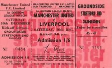 More details for full unused football ticket manchester united liverpool 1967-68 george best x2