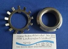 Shaft Lock Washer & Nut For Hobart Grinder Model 4246 Ref. Wl-17-7 & Ns-34-7