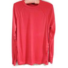 Patagonia Men's Capilene Lightweight Crew Neck Long Sleeve Shirt Red Medium Usa