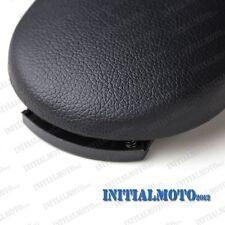 Black Leatherette Center Console Armrest Cover Latch Lid Clip For VW Passat Golf