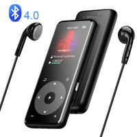 AGPTEK Bluetooth 8GB Lossless MP3 Player with Speaker/FM Radio/Voice Recorder