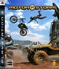 Used PS3 MotorStorm SONY PLAYSTATION 3 JAPAN JAPANESE IMPORT