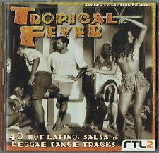 TROPICAL FEVER - 2 x CD - Miami Sound Machine, Los Lobos, Dawn Penn.Germany Sony