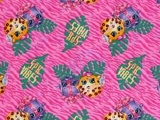 New listing Shopkins Fabric Spk Vibes Kooky Cookie Miss Pressy Quilting Cotton By The Yard
