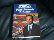 Peter Ueberroth  Autographed Book Made in America Beckett Pre Cert Nat League Co