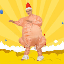 AU Cosplay Fancy Inflatable Chicken Turkey Party Costume Christmas Adult Dress