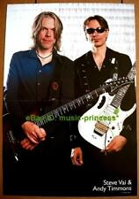 Steve Vai & Andy Timmons Ibanez Jem At100 Poster Import