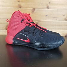 092cbae8b67e1 Nike Hyperdunk X 2018 Black Red Bred AO7893-600 Men's Basketball Shoes