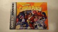 Wade Hixton's Counter Punch Nintendo Gameboy Advance GBA manual only no game