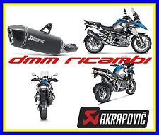Terminale AKRAPOVIC BMW R1200 GS ADVENTURE 17>18 Titanio Nero Black omologato