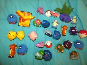 Vintage Nintendo Burger King  Pokemon toys 1999 Pokeballs Spinners Figurines 23!