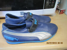 Blue PUMA SIZE 9 1/2  heel to toe is 10 11/16/ Women size 10 1/2