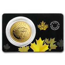 2018 Canada 1 oz Golden Eagle .99999 BU (Assay Card) -SKU #167420