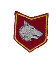 """Embroidered sleeve patch """"Wolfs from Vucjak"""" Vukovi's Vucjaka Serbien Krajina"""