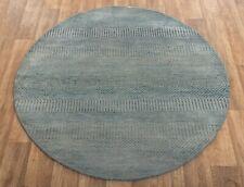 4x4 Area Rug, Floor Rug, Handmade Rug, Round Rug #1546.