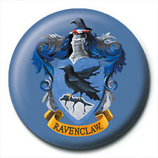 Harry Potter Pin Badge Button Brooch Ravenclaw School House Crest Logo Official