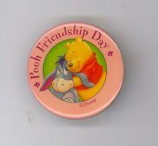 Hkdl Disney Hong Kong Winnie the Pooh Hugging Eeyore Friendship Day Pin Rare