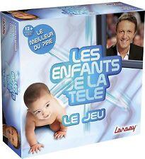 LES ENFANTS  DE LA TELE JEU DE SOCIETE LANSAY ARTHUR TF1 TV ++ 100% NEUF++ 75011