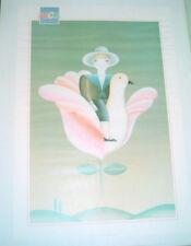 Poster, GAUTHIER Alain, Composition naïve