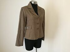 Brown and Pink Jacket Size 10