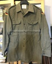 lc15) c1985 Bundeswehr West German Army Uniform shirt flags airsoft cold war