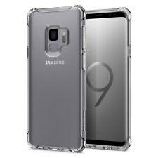 Galaxy S9 / Galaxy S9 Plus Case | Spigen® [Rugged Crystal] Slim TPU Clear Cover