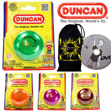 Duncan IMPERIAL Classic YoYo Ideal for KIDS & Beginners +Learn Yo-Yo DVD + Bag