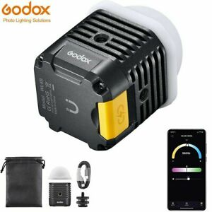 Godox WL4B 4W Waterproof LED Light for Outdoor Diving Shooting Live Broadcasting