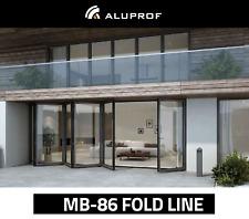 Fenster aus Polen - Aluminium Falttür, Faltanlage bis 6 Meter - inkl. Lieferung