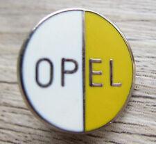 OPEL Pin / Pins: Opel Emblem weiss / gelb als Pin - Kult!