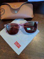 fe8f813c5b Ray ban women new sunglasses. 100% UV protection.Dark Violet lens. Scratch