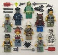 10 Lego Monster Fighters Minifig Lot: Werewolf Zombie Mummy