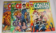 CONAN #28,32,33,44  VG'S