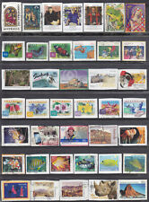 Collection Of Australia ALL DIFFERENT Used Stamps ON PAPER LOT03