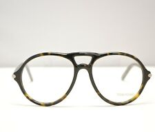 Authentic New Tom Ford TF5290 56F Tortoise Eyeglasses Made in Italy #TF1064